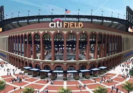 An undated illustration of Citi Field courtesy of the The New York Mets. REUTERS/Handout