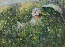 "<p>""Dans la Prairie,"" by Claude Monet is seen in this handout photo. REUTERS/Christie's/Handout</p>"