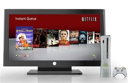 Netflix's Xbox LIVE interface is seen in an undated handout photo. REUTERS/Netflix/Handout