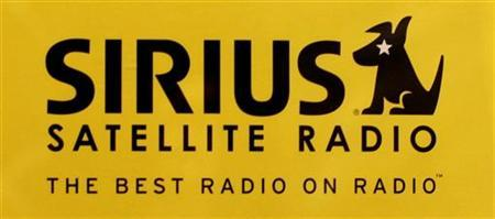 The logo of Sirius Satellite Radio is shown at a Washington area electronics store February 20, 2007. REUTERS/Jason Reed