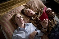 <p>An undated handout photo shows actors Kate Winslet (L) and David Kross in a scene from the film 'The Reader ' directed by Stephen Daldry, which is showing in competition at the 59th Berlinale film festival. REUTERS/ The Weinstein Company/Melinda Sue Gordon, SMPSP/Handout</p>