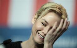 <p>Actress Renee Zellweger attends a news conference to promote the movie 'My one and only' at the 59th Berlinale film festival in Berlin, February 12, 2009. REUTERS/Johannes Eisele</p>
