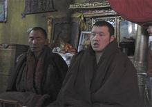 <p>Monks recite religious scriptures at the Yumbu Lhakang Temple in Shannan County, Tibet February 13, 2009. REUTERS/Emma Graham-Harrison</p>