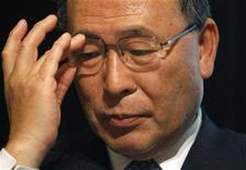 <p>Il presidente della giapponese Toshiba Atsutoshi Nishida. REUTERS/Yuriko Nakao</p>