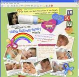 <p>California Octuplets mom Nadya Suleman has a new Web site (www.thenadyasulemanfamily.com), shown in this screenshot taken February 11, 2009. REUTERS/www.thenadyasulemanfamily.com</p>