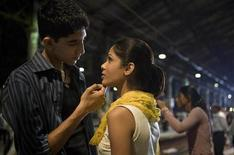 "<p>A scene from ""Slumdog Millionaire"" is shown in this undated handout photo. REUTERS/Fox Searchlight</p>"