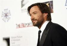 "<p>Actor Hugh Jackman attends the third annual ""A Fine Romance"" evening gala in Culver City, California October 20, 2007. REUTERS/Mario Anzuoni</p>"