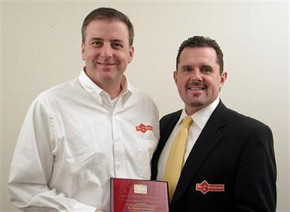 David Ambinder and CEO of Mr. Handyman, Todd Recknagel.