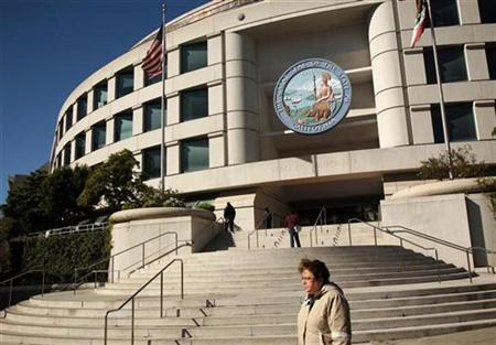 Governor Edmond G. ''Pat'' Brown's state office building is shown in San Francisco, California in this January 29, 2009 file photo. REUTERS/Robert Galbraith