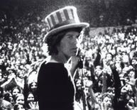 "<p>Mick Jagger of the Rolling Stones pictured in the 1970 documentary film "" Gimmie Shelter"". REUTERS/File</p>"