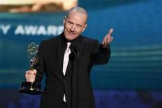 "<p>Actor Bryan Cranston accepts the award for outstanding actor in a drama series for ""Breaking Bad"" at the 60th annual Primetime Emmy Awards in Los Angeles September 21, 2008. REUTERS/Lucy Nicholson</p>"