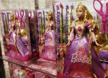 <p>A Barbie doll is seen inside the FAO Schwartz toy store in New York, March 9, 2009. REUTERS/Shannon Stapleton</p>