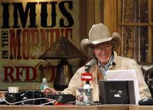 <p>Radio personality Don Imus talks on air during his return to radio in New York, in this file photo from December 3, 2007. REUTERS/Brendan McDermid</p>