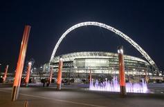<p>Foto de arquivo mostra exterior do estádio de Wembley em 2007. REUTERS/Toby Melville</p>