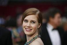 <p>Actress Amy Adams poses at the 81st Academy Awards in Hollywood, California February 22, 2009. REUTERS/Mario Anzuoni</p>