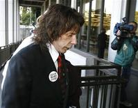 <p>Phil Spector arrives at Los Angeles Superior Court in Los Angeles March 23, 2009. REUTERS/Mario Anzuoni</p>