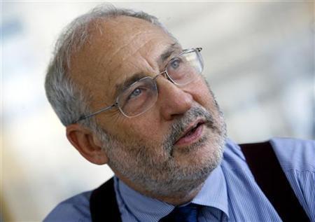Nobel Prize-winning economist Joseph Stiglitz in a file photo. REUTERS/Mike Segar