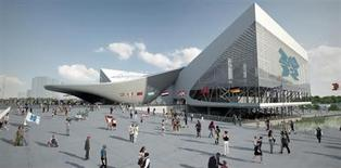 <p>The Aquatics Centre in an image courtesy of London 2012. REUTERS/London 2012/Handout</p>