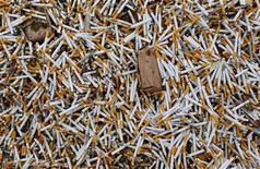 <p>Danni fumo, Corte Suprema Usa respinge appello Philip Morris. REUTERS/Stringer</p>