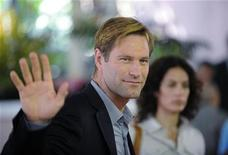 <p>Actor Aaron Eckhart attends the HFPA Installation Luncheon in Beverly Hills, California July 30, 2008. REUTERS/Phil McCarten</p>