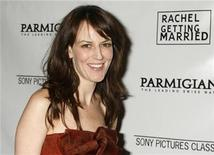 "<p>Actress Rosemarie DeWitt, star of the film ""Rachel Getting Married"" poses at the film's premiere in Beverly Hills, California September 15, 2008. REUTERS/Fred Prouser</p>"