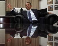 <p>Il presidente americano Barack Obama. REUTERS/Jim Young</p>