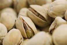 <p>Pistachio nuts are shown in closeup in this undated handout photo. REUTERS/Newscom</p>