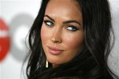 """<p>Actress Megan Fox poses at the 13th annual GQ magazine """"Men of the Year"""" party in Los Angeles November 18, 2008. REUTERS/Mario Anzuoni</p>"""