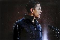 <p>Imagen de Barack Obama tomada por el fotógrafo del New York Times y ganador de un Premio Pulitzer Damon Winter. El periódico The New York Times dominó los codiciados premios Pulitzer anunciados el lunes, ganando cinco categorías que incluyen reportaje de investigación, noticias de última hora y periodismo internacional. REUTERS/Damon Winter/New York Times/Handout</p>