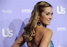 <p>Celebrity Designer of the Year Lauren Conrad poses at Us Weekly's Hot Hollywood 2008 party in Los Angeles, April 17, 2008. REUTERS/Chris Pizzello</p>