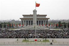<p>Immagine d'archivio di piazza Tiananmen a Pechino. REUTERS/Jason Lee (CHINA TRAVEL)</p>