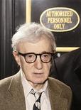 """<p>Cineasta Woody Allen na apresentação do filme """"Whatever Works"""" na abertura do Festival de Filmes Tribeca em Nova York. 22/04/2009. REUTERS/Lucas Jackson</p>"""