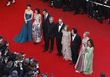 <p>La passerella per la serata di apertura al festival di Cannes REUTERS/Christian Hartmann</p>