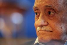 <p>Uruguayan writer Mario Benedetti looks on during the presentation of a book in Montevideo in this December 20, 2006, file photo. Benedetti died on May 17, 2009 at the age of 88. REUTERS/Andres Stapff/Files</p>