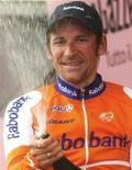 <p>Il ciclista russo Denis Menchov. REUTERS/Stefano Rellandini</p>