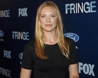 "<p>Cast member Anna Torv attends the Fox Premiere Party of ""Fringe"" at The Xchange in New York August 25, 2008. REUTERS/Joshua Lott</p>"
