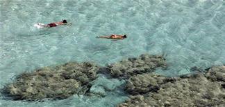 <p>Vacanze al mare, Isola del Giglio al top per Legambiente. REUTERS/Tony Gentile</p>
