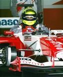 <p>Foto de arquivo do piloto da Toyota de Fórmula 1 Ralf Schumacher no circuito de Fuji. 28/02/2005. REUTERS/Yuriko Nakao</p>