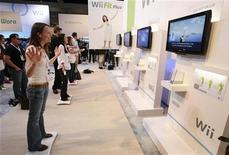 <p>Videogame, Ea e Ubisoft lanciano nuovi titoli per Wii. REUTERS/Mario Anzuoni</p>
