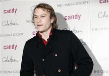 "<p>Actor Heath Ledger arrives at the premiere of the film ""Candy"" in New York November 6, 2006. REUTERS/Eric Thayer</p>"