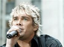 "<p>Sugar Ray's lead singer Mark McGrath, performs on NBC television's ""Today Show"" in New York on May 16, 2003. REUTERS/REUTERS/Peter Morgan</p>"