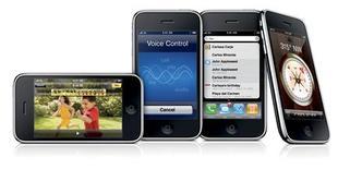 <p>Apple a annoncé à l'occasion de sa conférence annuelle des développeurs le lancement le 19 juin de l'iPhone 3GS, un modèle deux fois plus rapide que la précédente version, qui intègrera une caméra vidéo, qui sera compatible avec les systèmes de navigation par satellite de TomTom et avec des jeux multijoueurs comme Asphalt 5. /Photo transmise le 8 juin 2009/REUTERS/Apple</p>