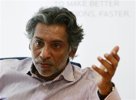 Managing Partner of Rivoli Group Ramesh Prabhakar speaks during the Reuters luxury summit in Dubai June 9, 2009. REUTERS/Jumana El Heloueh