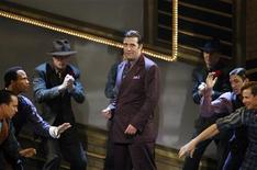 "<p>Cast members of musical ""Guys and Dolls"" perform at the 63rd annual Tony Awards ceremony in New York, June 7, 2009. REUTERS/Gary Hershorn</p>"
