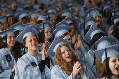 <p>Studentesse di un college Usa. REUTERS</p>