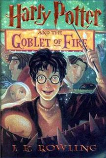 J.K. Rowling's novel,''Harry Potter and the Goblet of Fire'', is shown in this file photo. REUTERS/HO Old