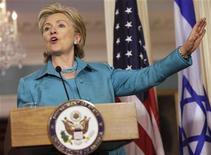 <p>Il segretario di Stato americano Hillary Clinton. REUTERS/Yuri Gripas</p>