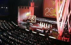 <p>Церемония открытия 29-го Московского международного кинофестиваля в Москве 21 июня 2007 года. Арт-хаус и экранизации классики будут задавать тон на очередном Московском международном кинофестивале, который откроется сегодня вечером. REUTERS/Alexander Natruskin</p>