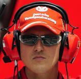<p>Piloto mais bem-sucedido na história da Fórmula 1, Michael Schumacher declarou neste sábado seu apoio ao movimento liderado pela Ferrari para criação de uma categoria paralela à F1. REUTERS/Manu Fernandez/Pool</p>