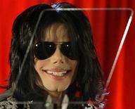 <p>Foto de archivo de la estrella pop Michael Jackson durante una conferencia de prensa en la Arena 02 de Londres, 5 mar 2009. REUTERS/Stefan Wermuth/Files</p>
